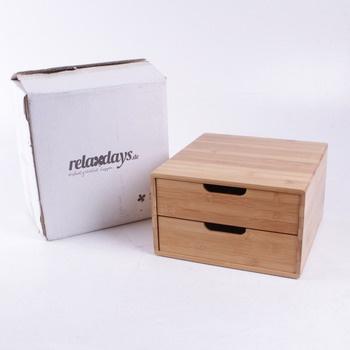 Úložný box RelaxDays z bambusu