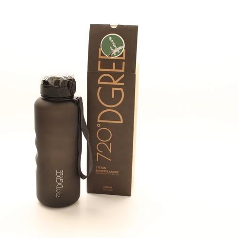 Outdoor láhev 720°DGREE Tritan černá