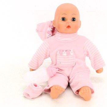 Panenka Bayer First Words baby v růžovém