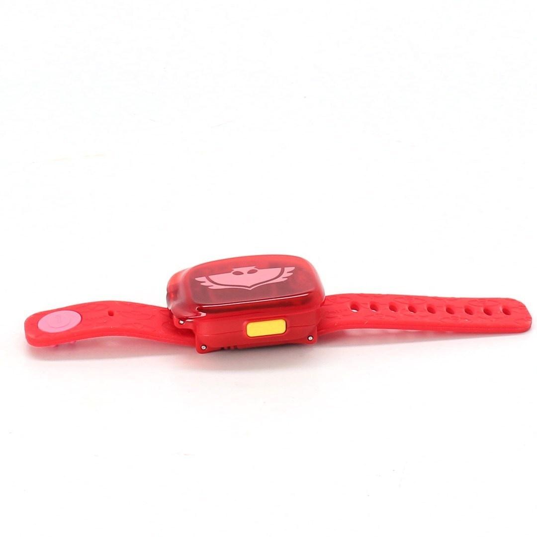 Dětské hodinky Vtech PJMasks červené DE