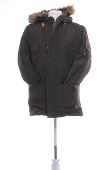 Pánská zimní bunda Poolman khaki XL