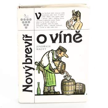 Kniha Jindřich Hauft: Nový brevíř o víně