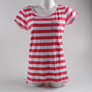 Dívčí tričko Superdry pruhované