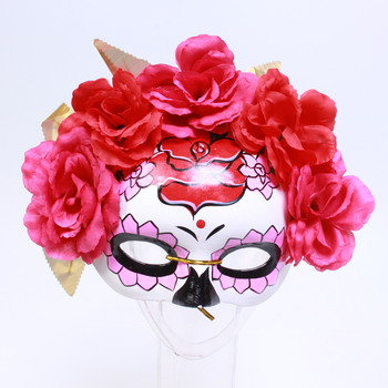 Maska Smiffys 44883 Day of the Dead Rose