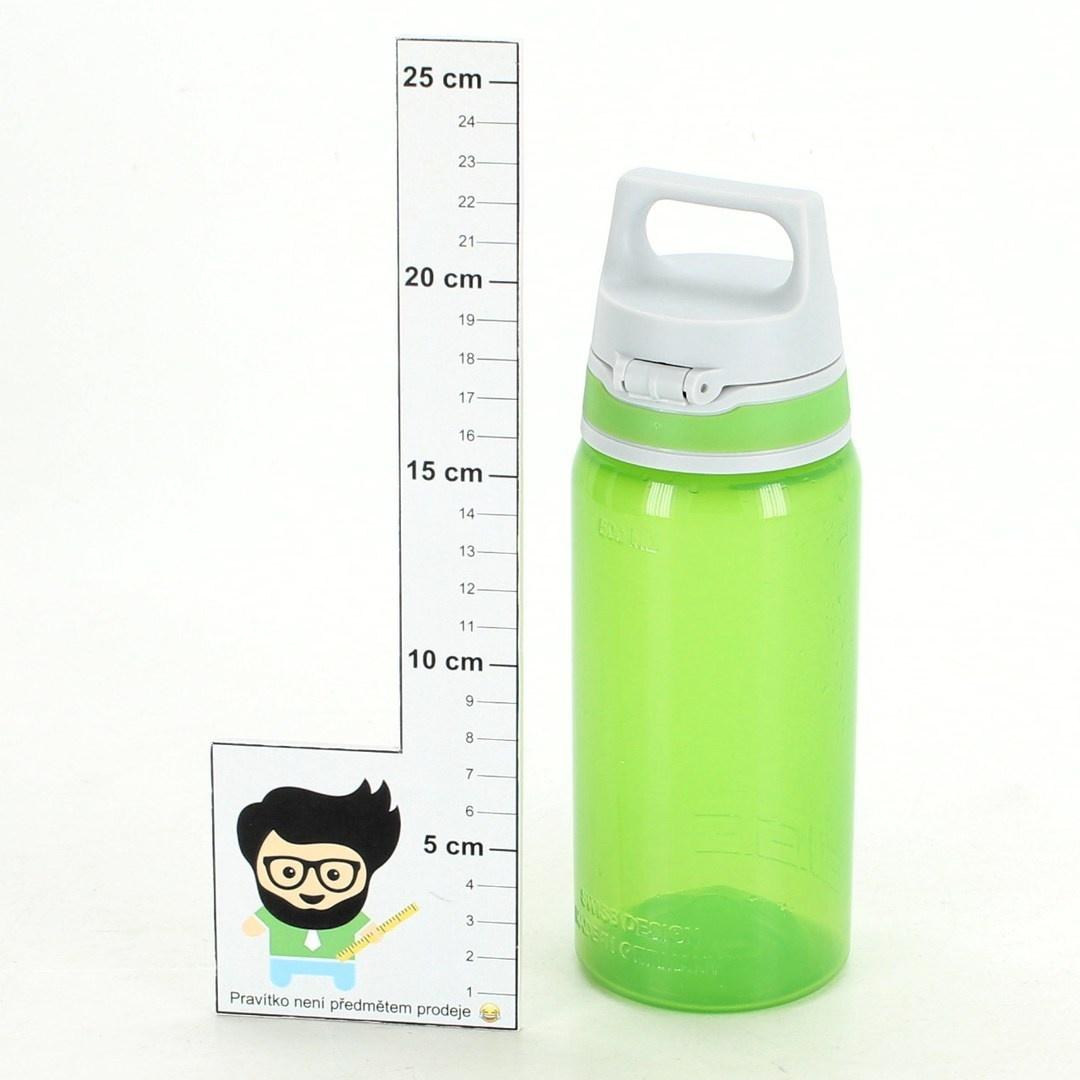 Cestovní láhev Sigg zelená