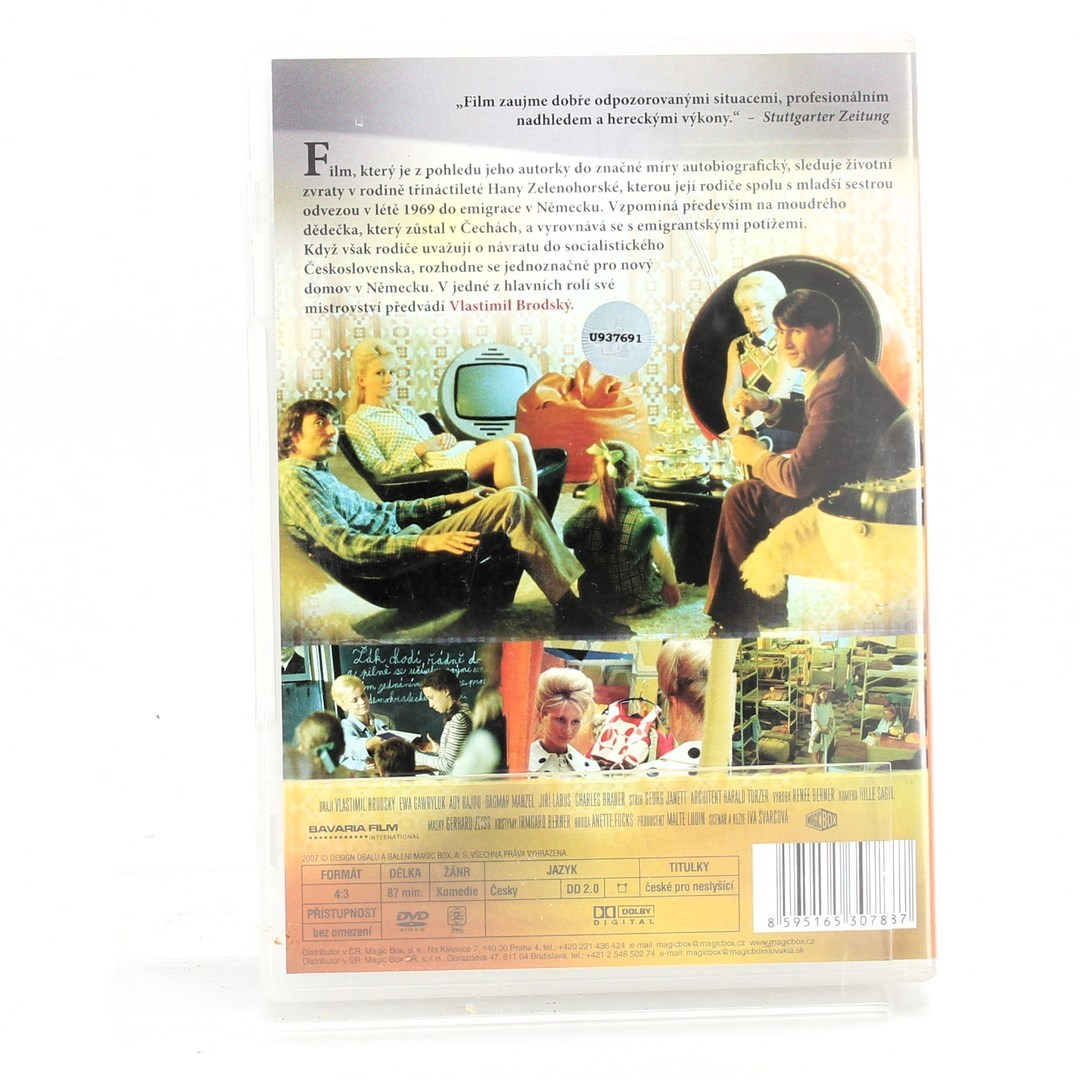 DVD film Když děda miloval Ritu Hayworthovou