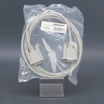 Seriový kabel PremiumCord DB9M-DB9M 200 cm
