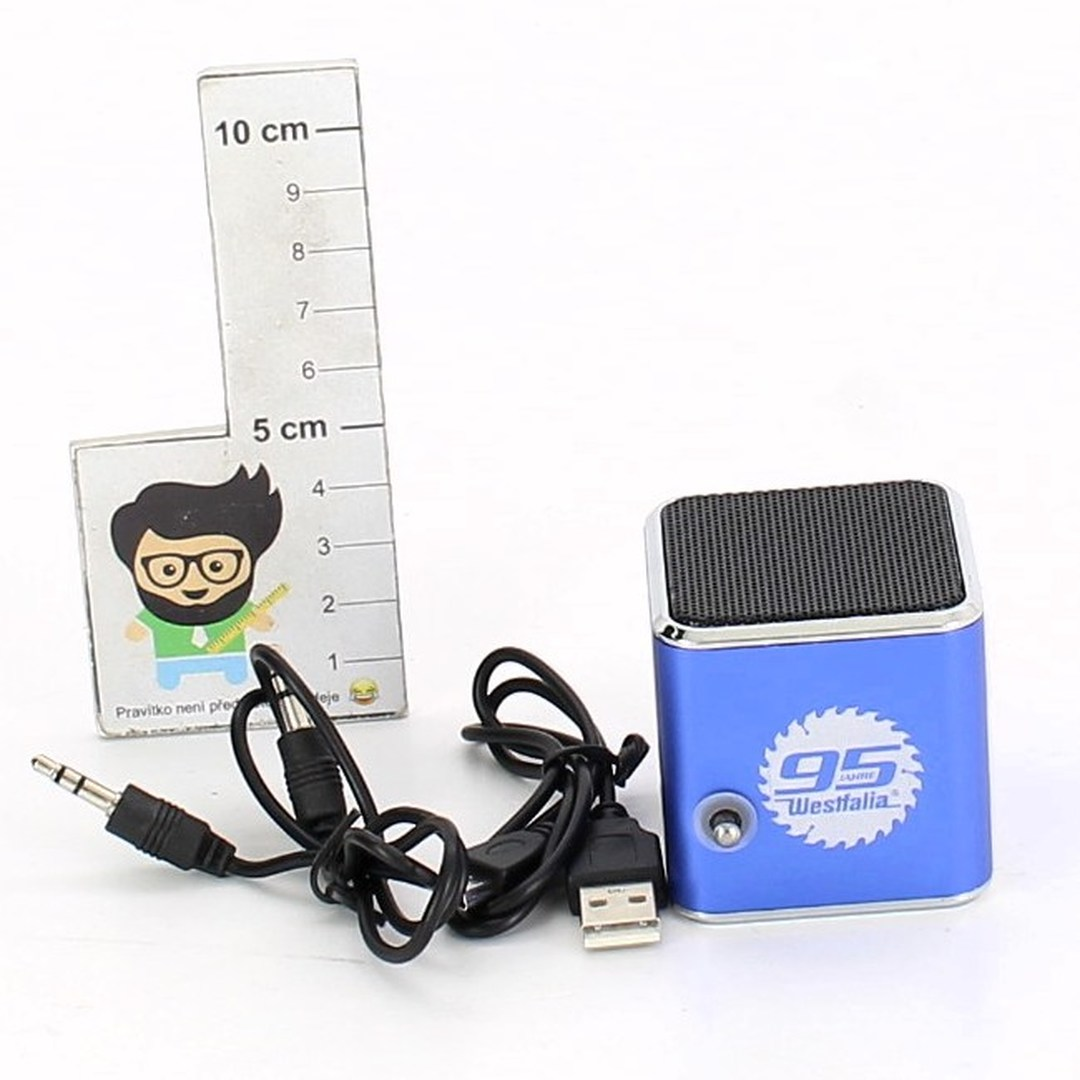 Bluebox Westfalia 3 v 1 Radio soundsystem