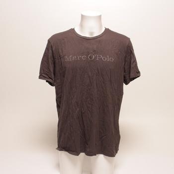 Pánské tričko Marco Polo hnědé XXL