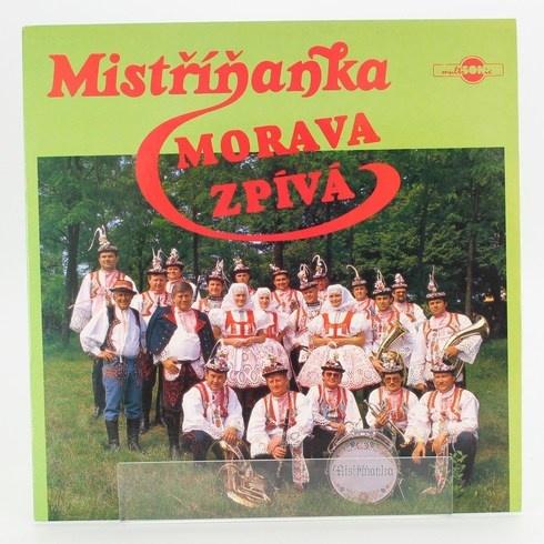 Gramofonová deska Morava zpívá Mistříňanka