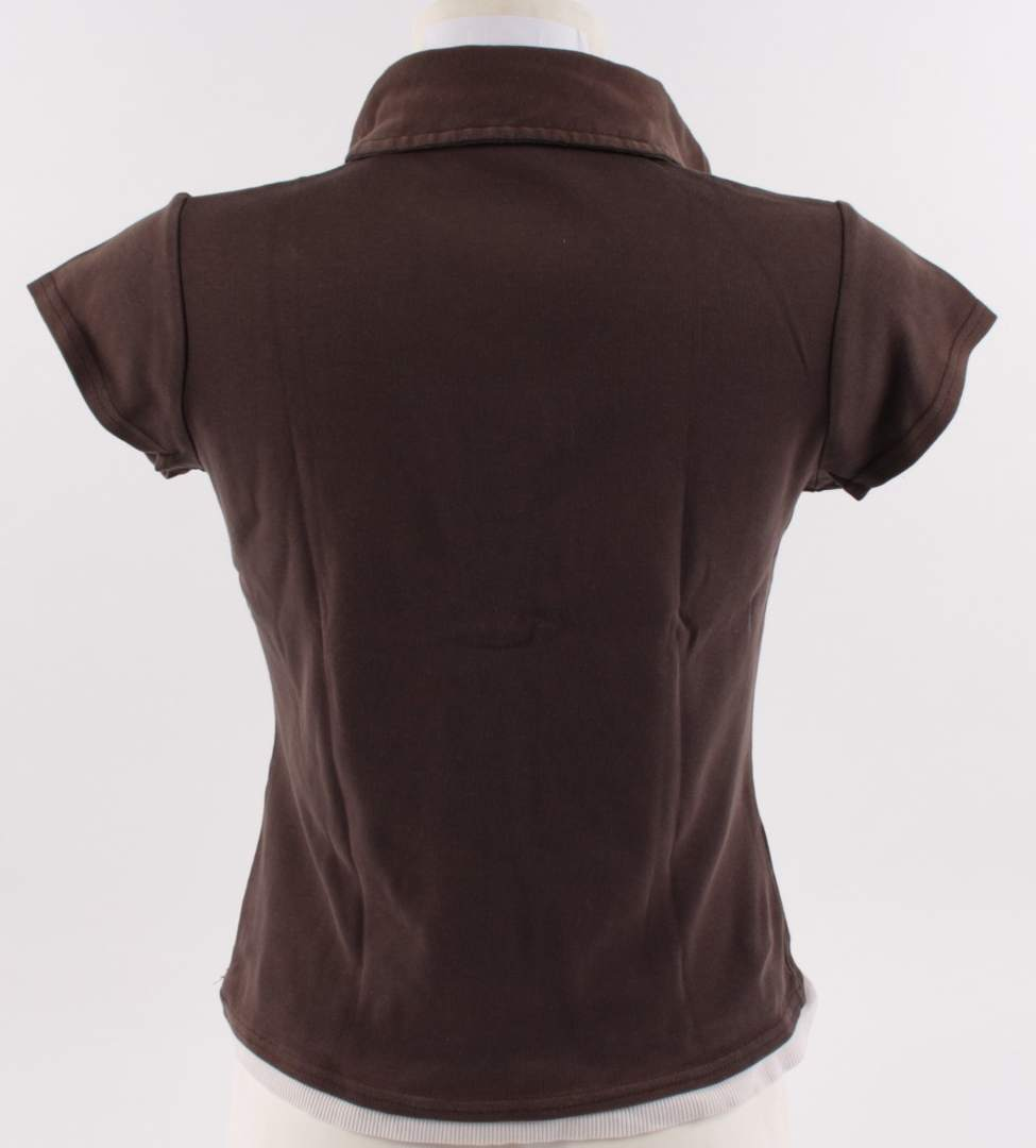 Dámské tričko Papaya s límečkem