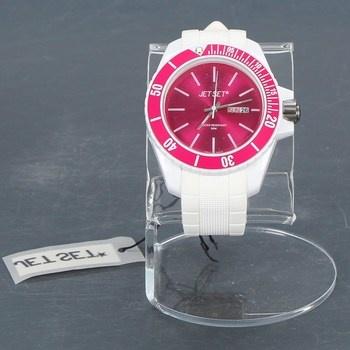 Dámské hodinky Jet Set J8349 růžovo bílé