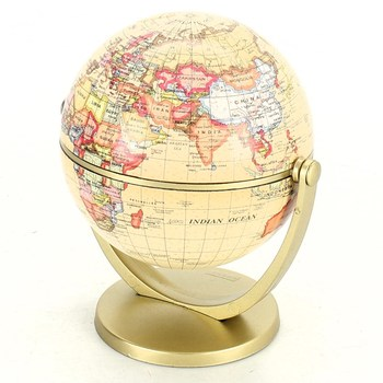 Dekorativní globus Exerz Art zlatý