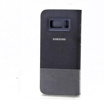 Flipový kryt Samsung LED view EF-NG95, černé