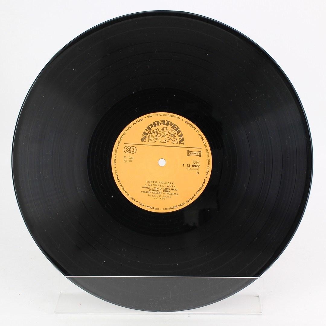 Gramofonová deska Supraphon  - Nekonečná deska