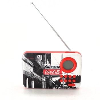 Přenosné MP3 rádio Metronic 477510