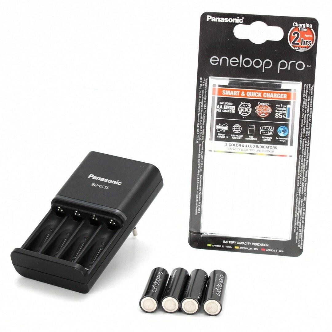 Nabíječka Panasonic Eneloop Smart-Quick