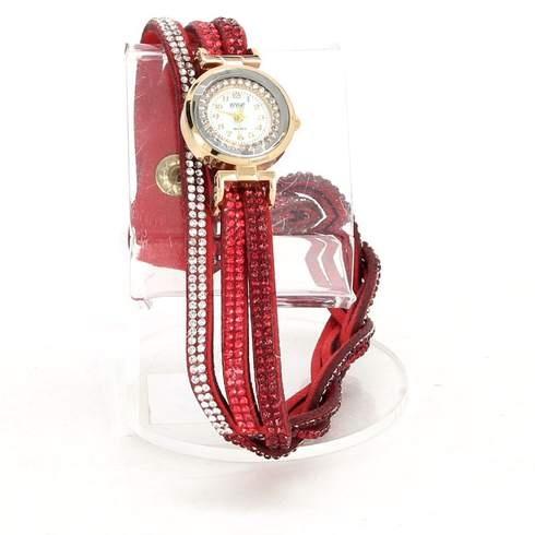 Dámské hodinky s ozdobným řemínkem - bazar  6f35f93267
