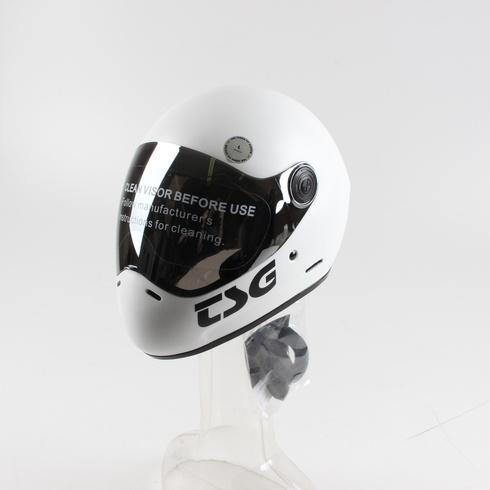 Přilba TSG pro sjezdovou cyklistiku bílá