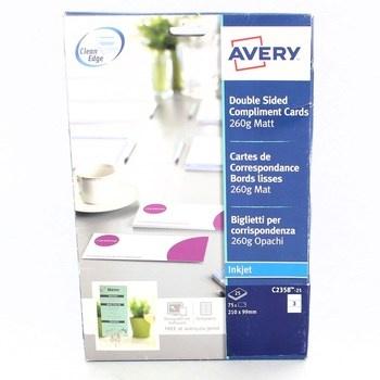 Lepící štítky Avery C2358-25i