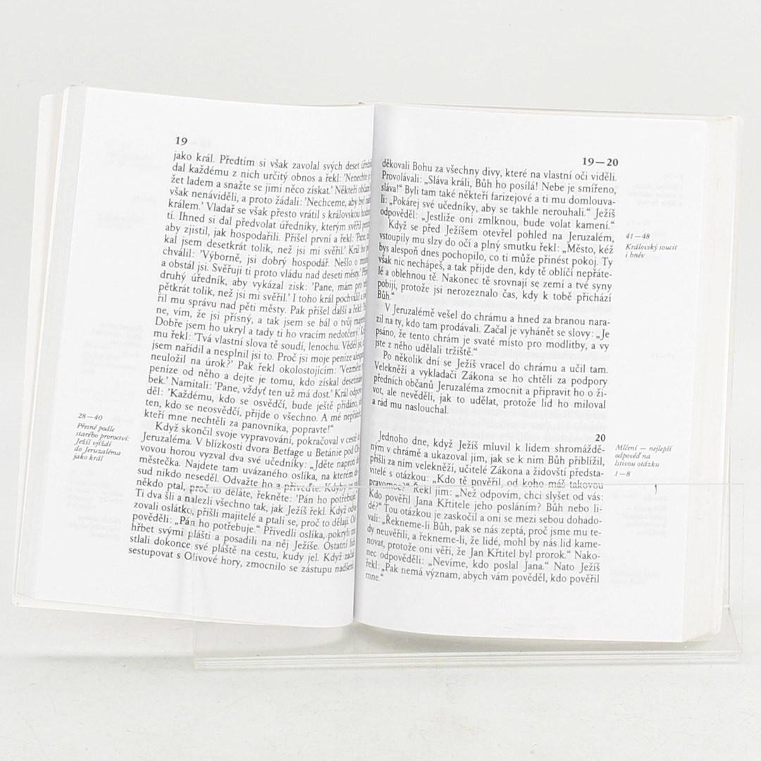 Kniha Více než tesař