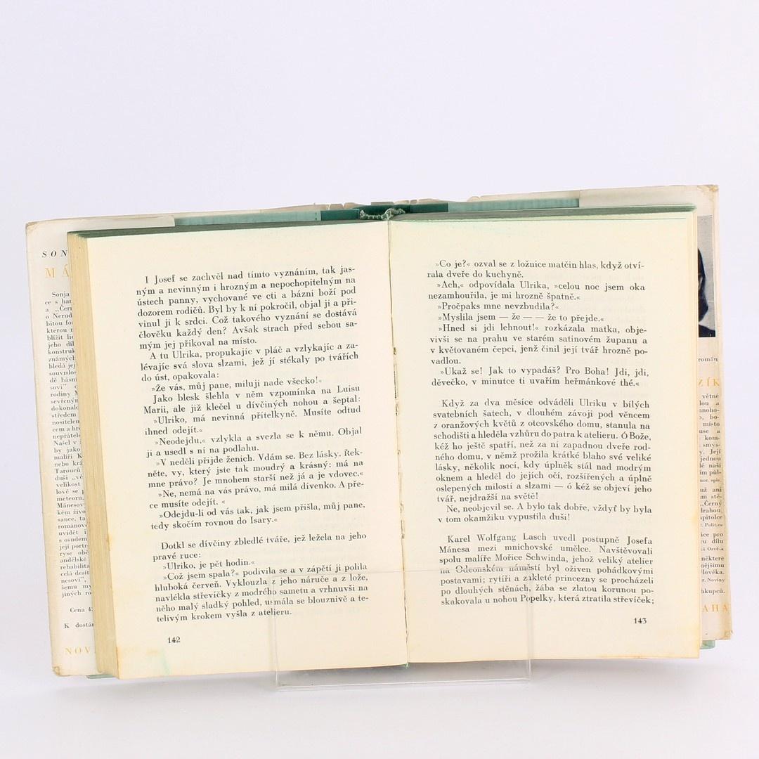 Kniha Mánesovi Sonja Špálová