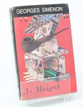 Kniha G. Simenon: 3x Maigret