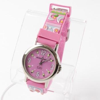 Dětské hodinky Jacques Farel růžové b88259838f7