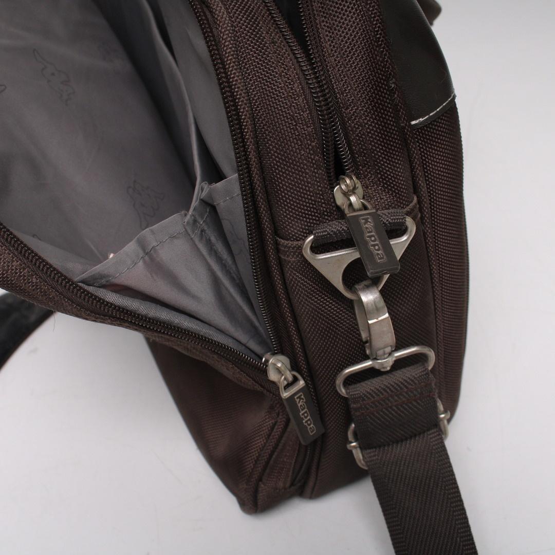 Taška na rameno Kappa odstín hnědé