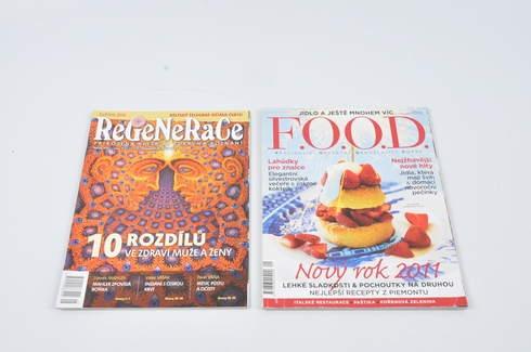 Set časopisů Regenerace a FOOD