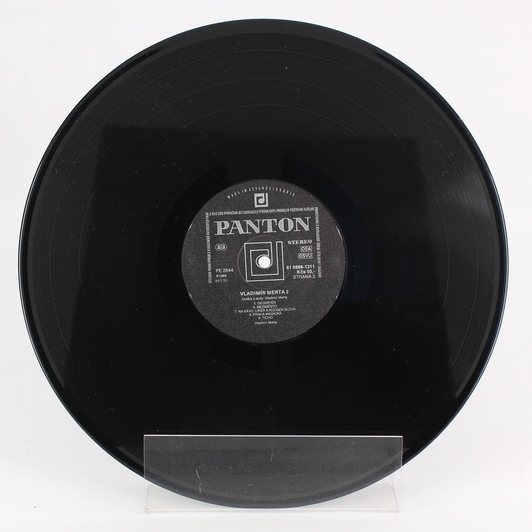 Gramofonová deska Panton Vladimír Merta 2