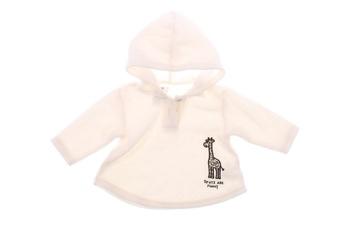 Dětská flísová mikina George s žirafou
