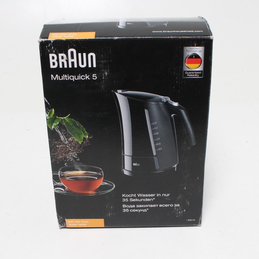 Rychlovarná konvice Braun WK500