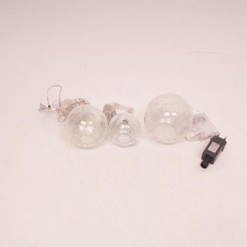 Světelný řetěz Lights4fun Battery Fairy Light Orbs
