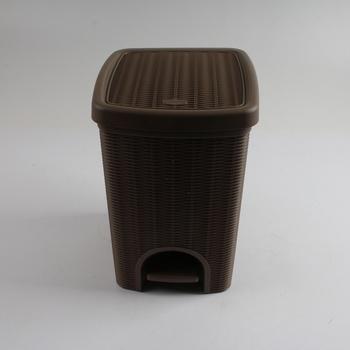 Odpadkový koš Stefanplast hnědý
