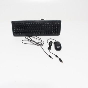 Set klávesnice a myši Microsoft Desktop 600