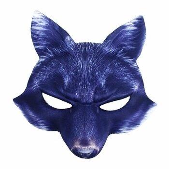 Maska karnevalová RAPPA Vlk s vousy
