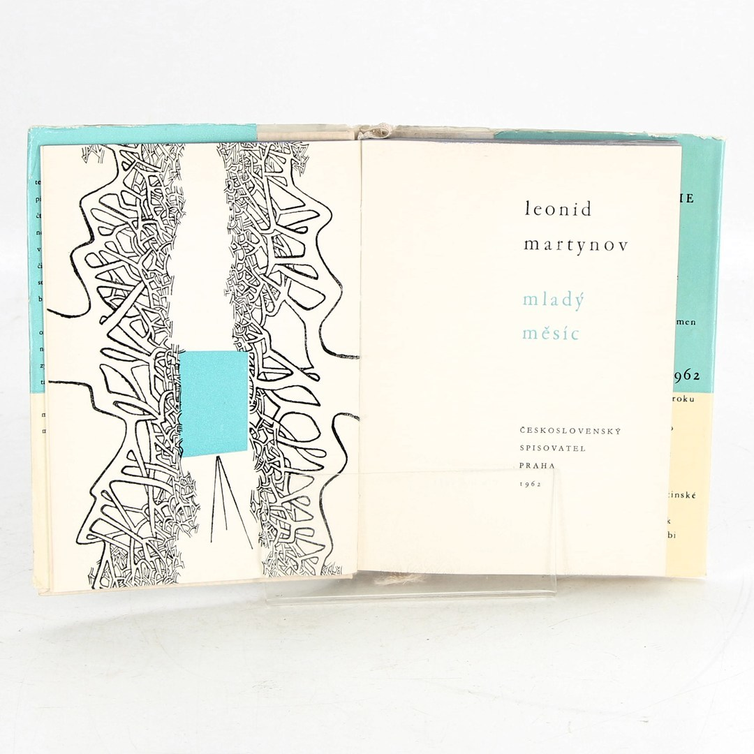 Kniha Mladý měsíc - L. Martynov