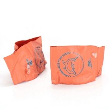 Nafukovací rukávky Infinitoo oranžové