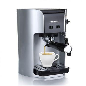 Kávovar Orava ES-250 stříbrný