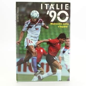 Kniha Itálie 90 Mistrovství světa v kopané