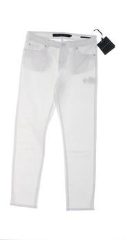 Dámské kalhoty Silvian Heach bílé barvy