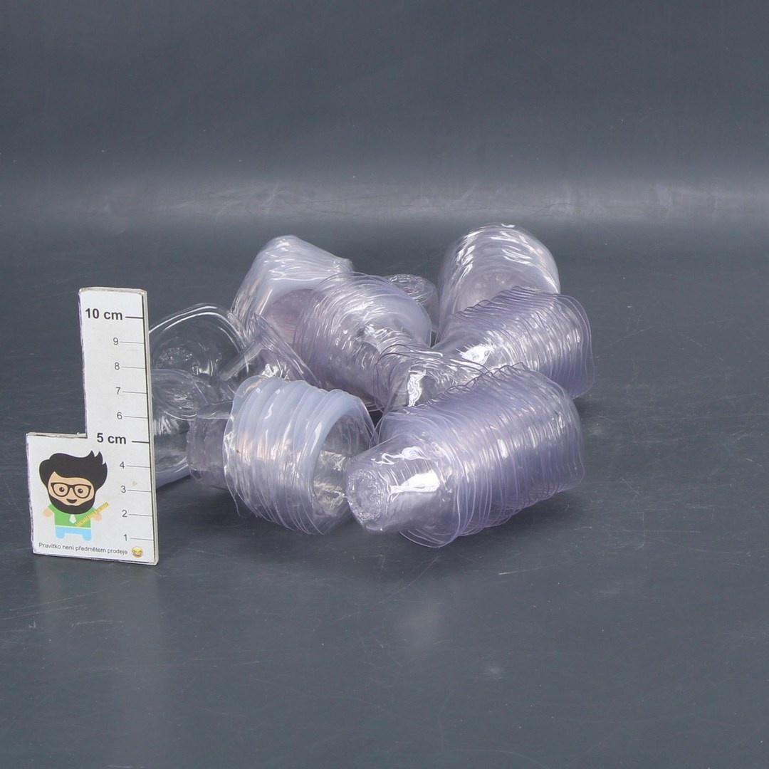 113 plastových kalíšků průhledné