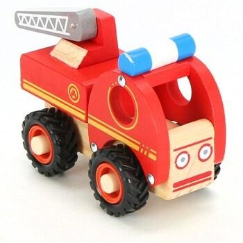 Dřevěné auto Hasiči Small Foot 11075 červené