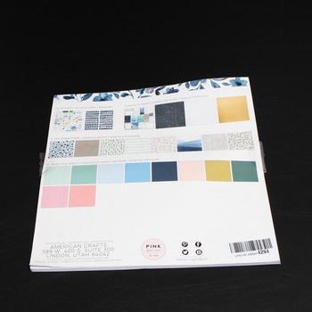 Barevné papíry American Crafts
