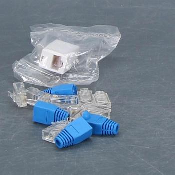Konektory na internetový kabel