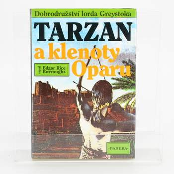Kniha E.R.Burroughs: Tarzan a klenoty Oparu