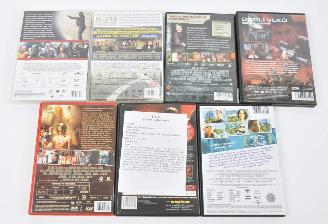 7 DVD - Únos, Prokletý klub, Údolí vlků a