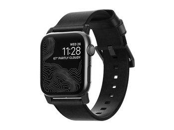 Řemínek k hodinkám Nomad Leather Strap Black