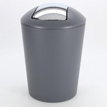 Odpadkový koš do koupelny Kela Marta šedý